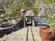 Gold Cord mine in Hatcher Pass Alaska operated from  until