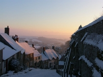 Gold Hill Shaftesbury Dorset UK