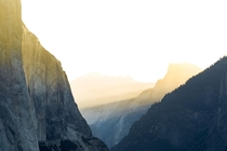 Golden Dawn in Yosemite Valley