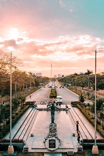 Golden Hour at the University of the Philippines