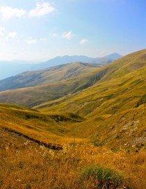 Golden View  Apennines Italy