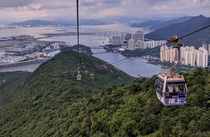 Gondola Ride in Hong Kong