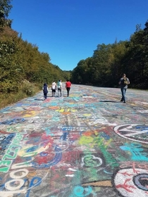 Gone but not forgotten centralia graffiti highway oc