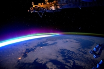 Good morning Canada you are quite colorful today by astronaut Scott Kelly