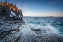 Good morning from Bruce Peninsula National Park Ontario Canada