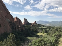 Good morning from Garden of the Gods