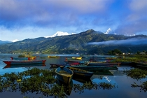Good Morning from Pokhara Nepal