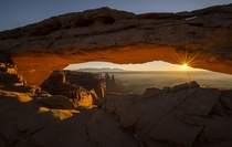 Goodbye  Mesa Arch Canyonlands Natl Park Utah