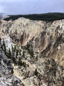 Gorge-ous texture - Yellowstone WY