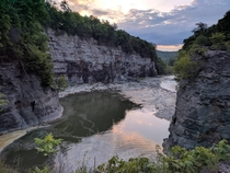 Gorge Trail at Letchworth State Park NY