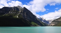 Gorgeous day at Lake Louise