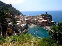 Gorgeous Day in Vernazza Cinque Terre Italy