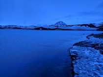 Gorgeous evening lake view at Lake Myvatn Iceland x