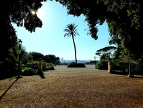 Gorgeous Parco del Pincio in the middle of Rome Italy