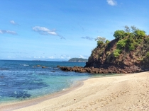 Gorgeous tropical beach in Brasilito Costa Rica
