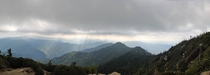 Gorgeous view at Mt Le Conte Smoky Mountains TN -