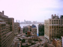 Gorgeous view from the roof of my SOHO hotel NYC  OC