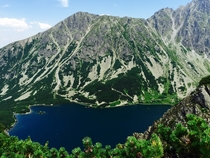 Gorgeous view of the Tatra Mountains in Poland