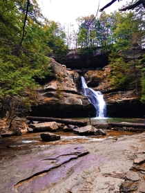 Got a great shot on this beauty at Hocking Hills State Park Oh What do you guys think