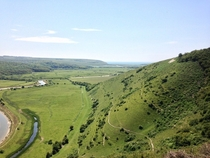 Got a great view of Cuckmere Valley today Sussex UK