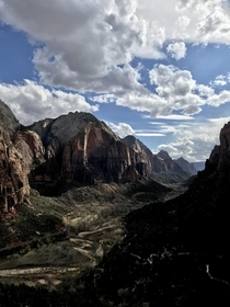 Got blessed with an amazing day at Zion National