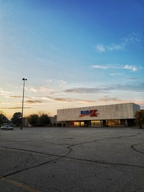 Got this beautiful shot of my childhood K-Mart now that its closed Not sure what the plans for the property are but I just had to go out of my way to visit it just one more time So glad I got there in time