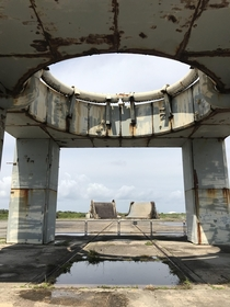 Got to visit Launch Complex  the site of the Apollo  disaster