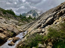 Gothic Basin in North Cascades WA