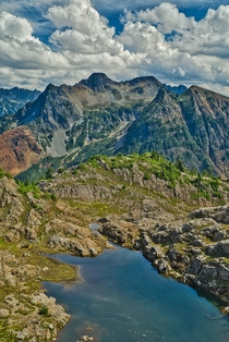 Gothic Basin North Cascades Washington
