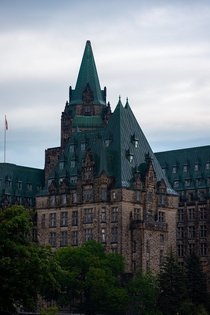 Gothic Revival - The Confederation Building Ottawa Ontario