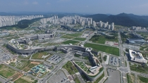 Government Complex at Sejong City South Korea