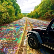 Graffiti Highway located in CentraliaPennsylvania
