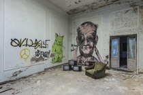 Graffiti in abandoned locations - art or vandalism