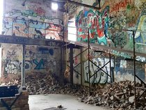 Graffiti Psychedelia in an Abandoned Paper Factory in Ontario Canada  OC