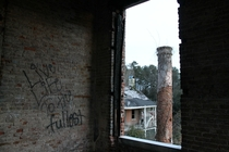 Graffito Advice in Mississippi Plantation Home