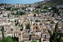 Granadas Albaicn seen from the Alhambra