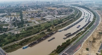Grand canal China worlds longest and oldest canalartificial river at  km  miles and parts of it date back to th century BC