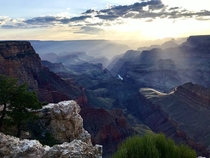Grand Canyon at Sunset June  OC x