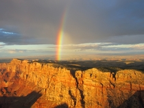 Grand Canyon at Sunset Plus Rainbow OC