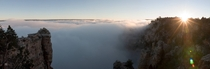 Grand Canyon AZ - Weather Inversion -