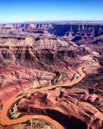 Grand Canyon in its copper-coloured glory