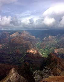 Grand Canyon of Kauai Hawaii Waimea Canyon OC