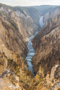 Grand Canyon of the Yellowstone National Park Wyoming