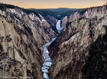 Grand Canyon of the Yellowstone River from Artists Point