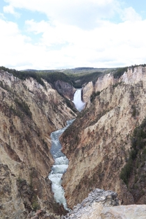 Grand Canyon of the Yellowstone the scale of this place is unreal