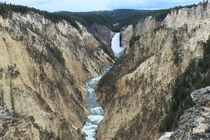 Grand Canyon of the Yellowstone Yellowstone National Park Wyoming