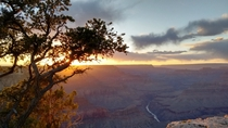 Grand Canyon Sunset - Taken with my phone