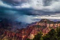 Grand Canyon Thunderstorm last August