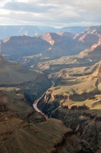 Grand Canyon view from Hermits Rest USA