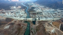 Grand Ethiopian Renaissance Dam GERD upon completion it will be the th biggest in the world